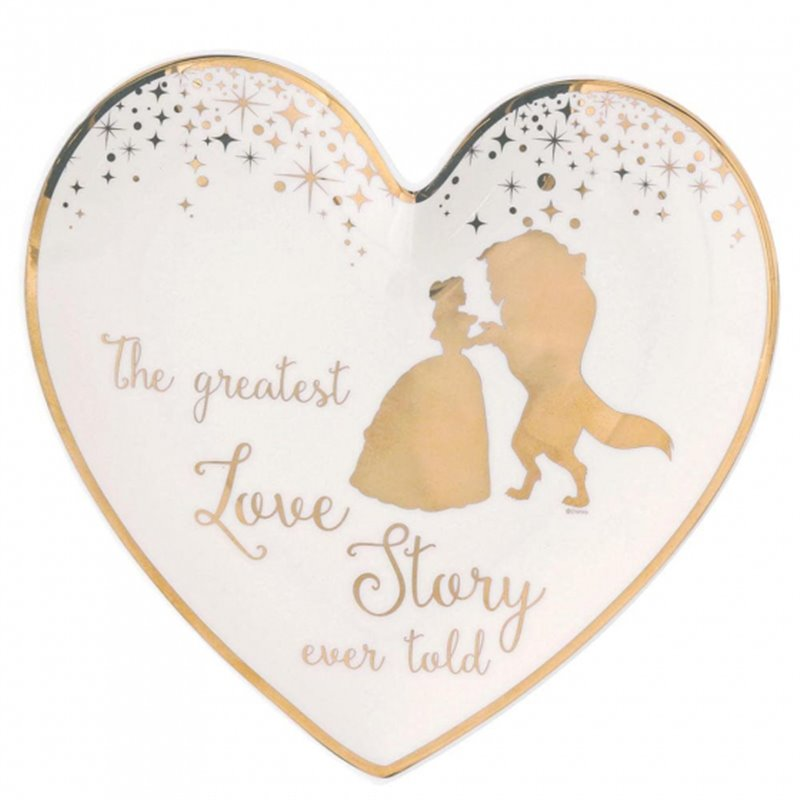 Wedding Ring Dish - Beauty & the Beast