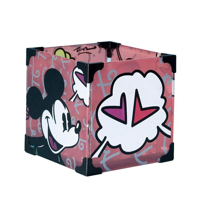 Waxinelicht Houder By Britto - Mickey & Minnie