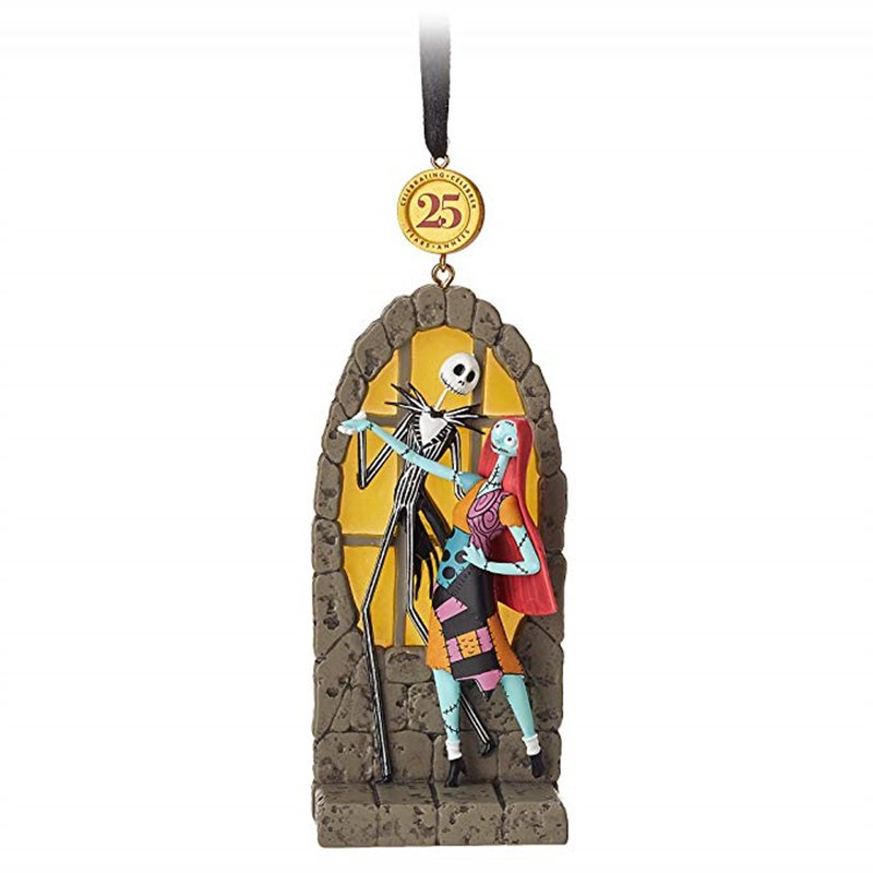 8765 3D Dangle Ornament - Jack & Sally