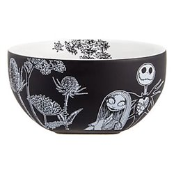 Black & White Bowl - Jack Skellington & Sally