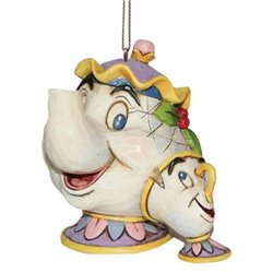 Ornament - Mrs Potts & Chip