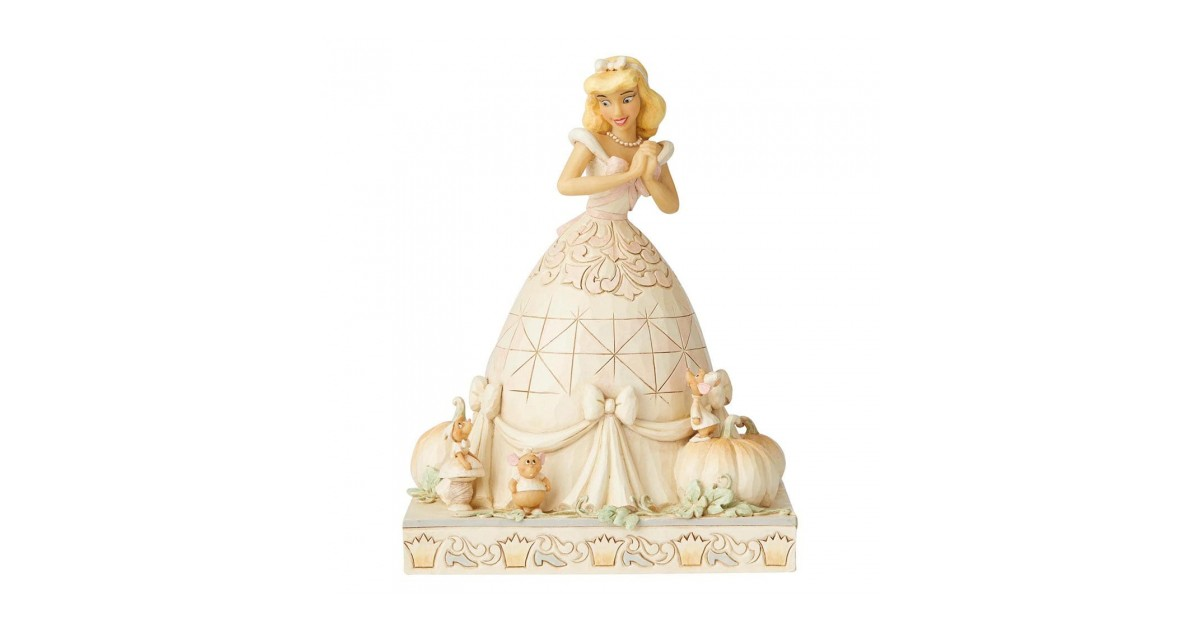 White Woodland Darling Dreamer - Cinderella