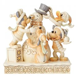 White Woodland Frosty Friendship - Mickey & Co