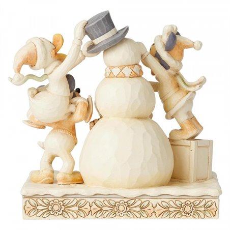 White Woodland Frosty Friendship - Mickey & Co