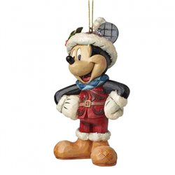 Sugar Coated Ornament - Mickey