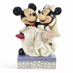 Cake Topper Congratulations - Mickey & Minnie
