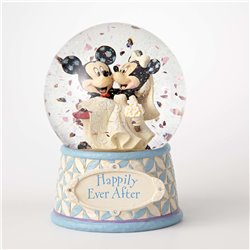 Happily Ever After Snowglobe - Mickey & Minnie