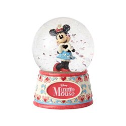 I Heart You - Snowglobe - Minnie Mouse