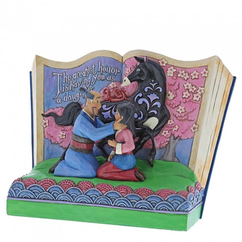 StoryBook - The Greatest Honor Is You as a Daughter - Mulan