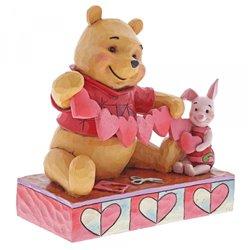 Handmade Valentines - Pooh & Piglet