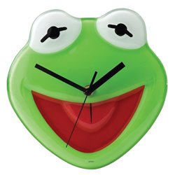 Time to fulfil your dreams - Wall Clock - Kermit
