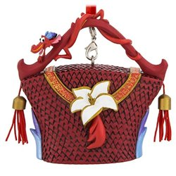 8651 3D Bag Ornaments - Mulan
