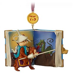 8770 3D Dangle Ornament Fairy Tales - Chip & Dale
