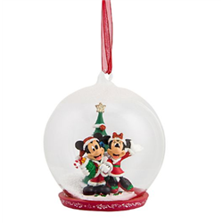 8565 3D Figuur in Dome - Mickey & Minnie
