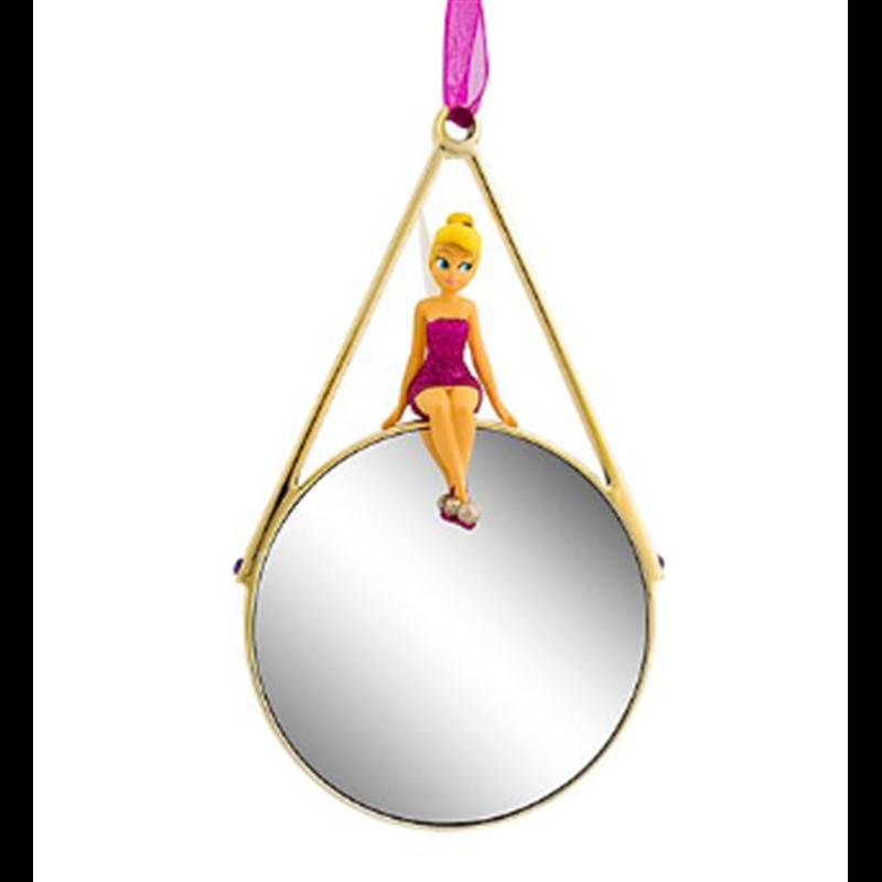 8753 3D Figuur op Spiegel Rood & Goud - Tinker Bell