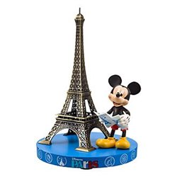 Eiffeltoren Gidemap - Mickey