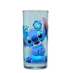 LongDrink Glas Blauw - Stitch