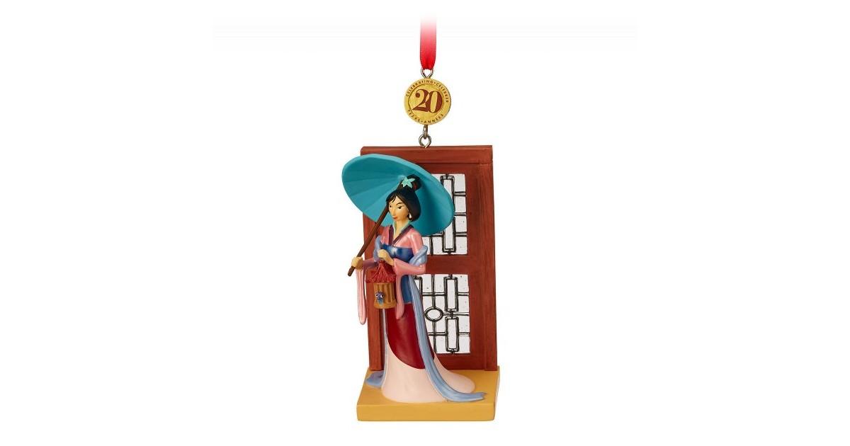 8766 3D Dangle Ornament - Mulan