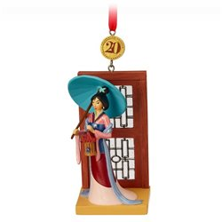 8766 3D Dangle Ornament - Mulan