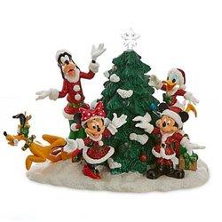 Santas Light-Up Christmas Tree - Mickey & Co