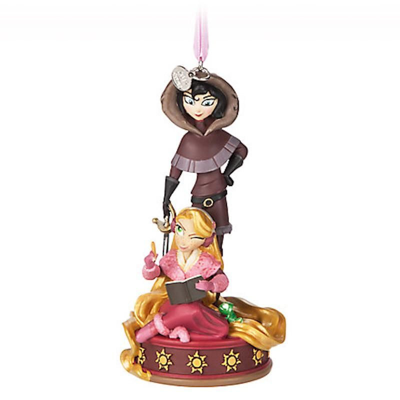 8634 Dangle Ornament - Rapunzel & Cassandra