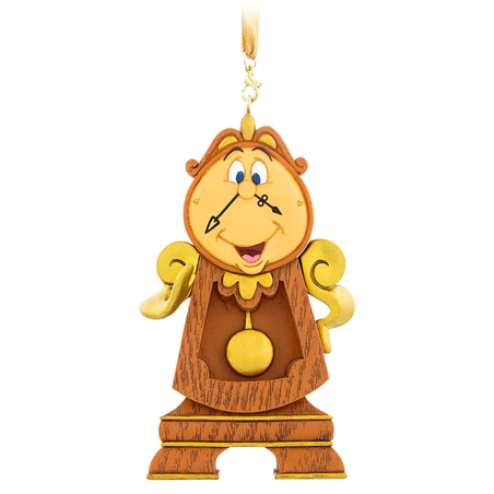 8681 3D Dangle Ornament - Cogsworth