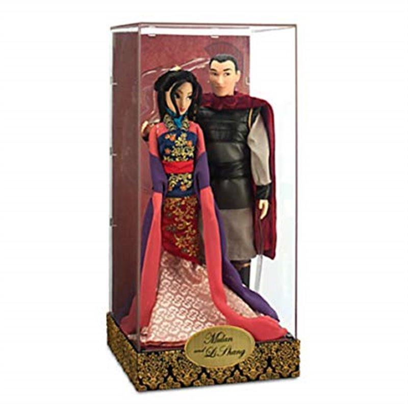 Disney Fairytale Designer Collection Mulan And Li Shang Dolls