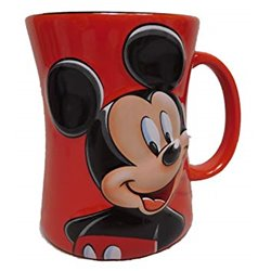 Zandloper Mok Rood - Mickey