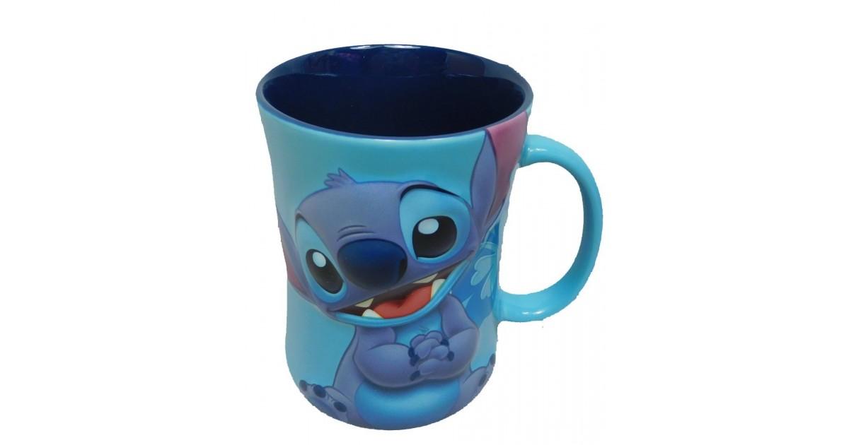 Zandloper Mok Blauw - Stitch