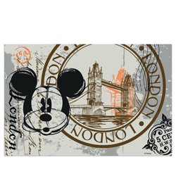London Placemat - Mickey