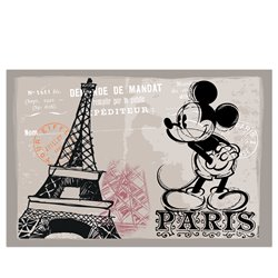 Paris Placemat - Mickey