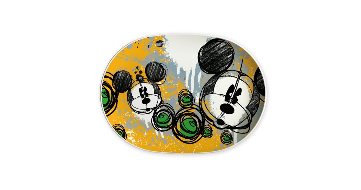 1158 Dienblad Ovaal 40/28cm - Mickey