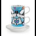 EM 204 LOVE 2 Espresso Kop & Schotels - Mickey & Minnie