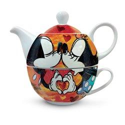 EM 207 Tea for One - Mickey & Minnie