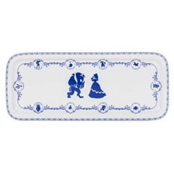 Cake Bord Konings Blauw - Beauty & the Beast