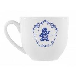 4dlg Set Koffie Kopjes Konings Blauw - Beauty & the Beast