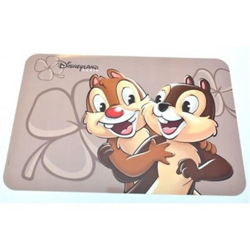 Placemat Bruin - Chip & Dale