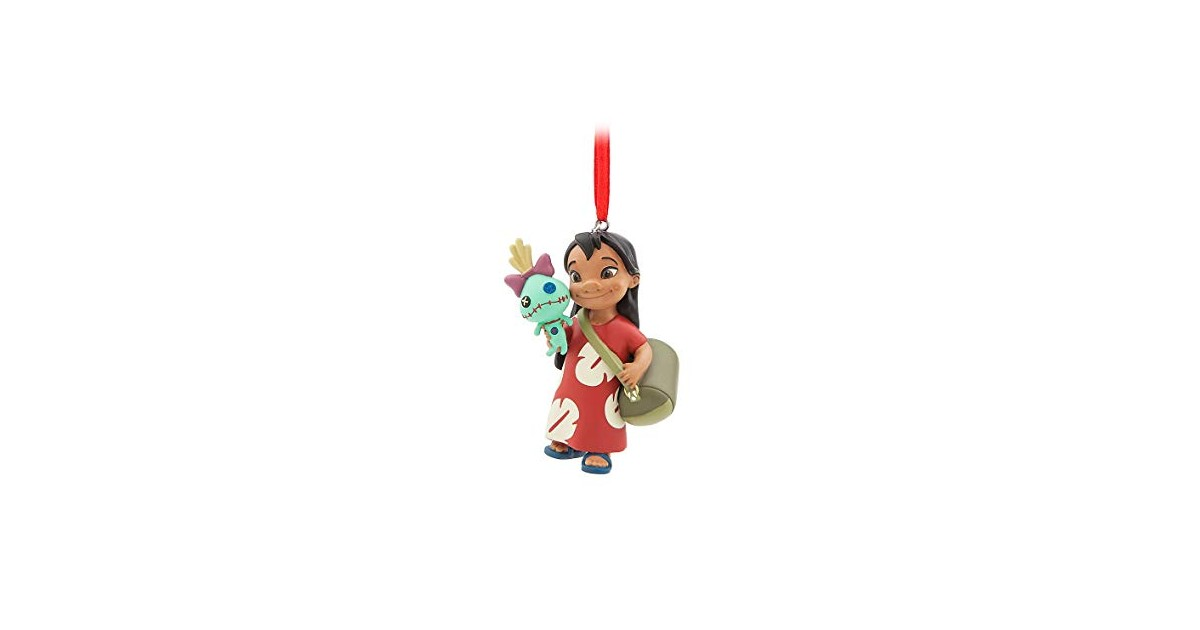 8598 3D Dangle Ornament - Lilo & Scrump