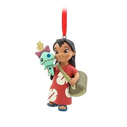 8598 3D Dangle Ornament - Lilo & Scrump