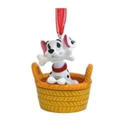 8742 3D Dangle Ornament  in Mandje - Lucky