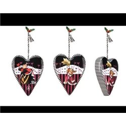 7842 Ornament - Queen of Hearts
