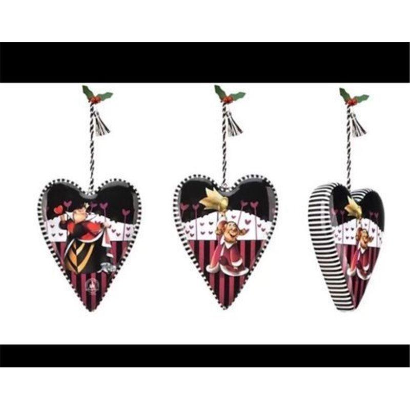 7842 Ornament - Queen of Hearts