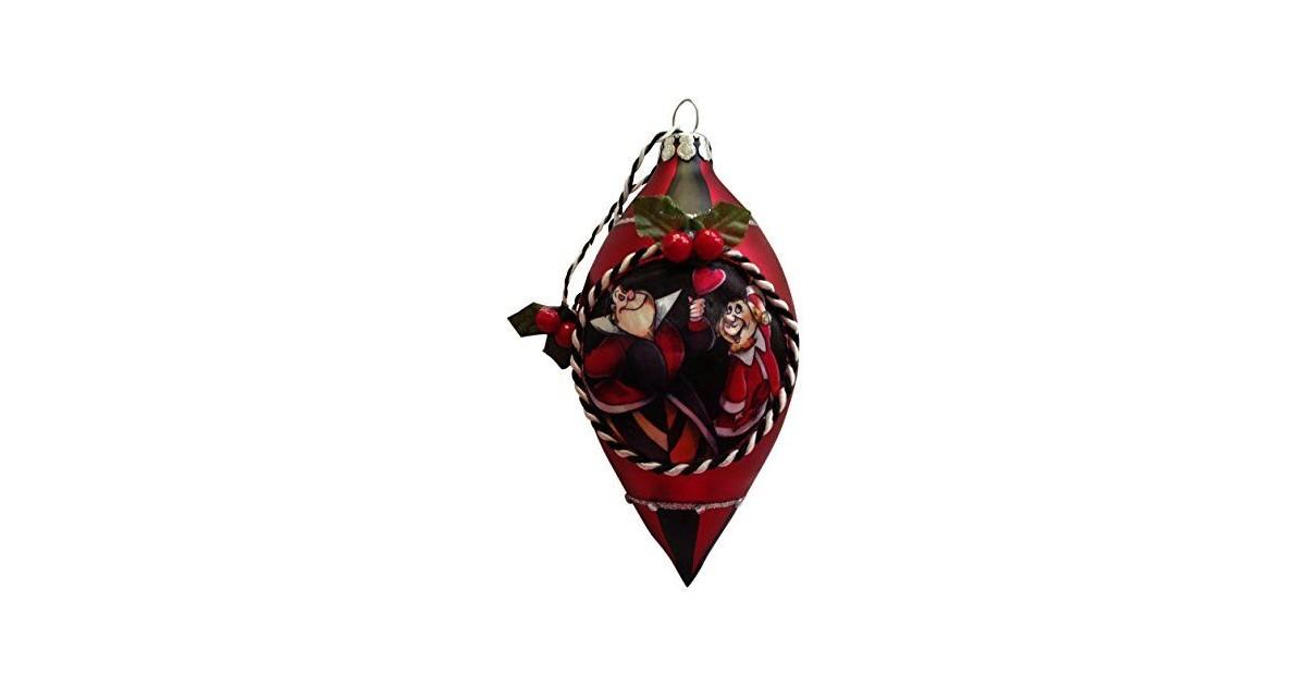 7543 Kerstpegel - Queen of Hearts
