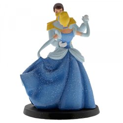 Wedding Cake Topper - Cinderella