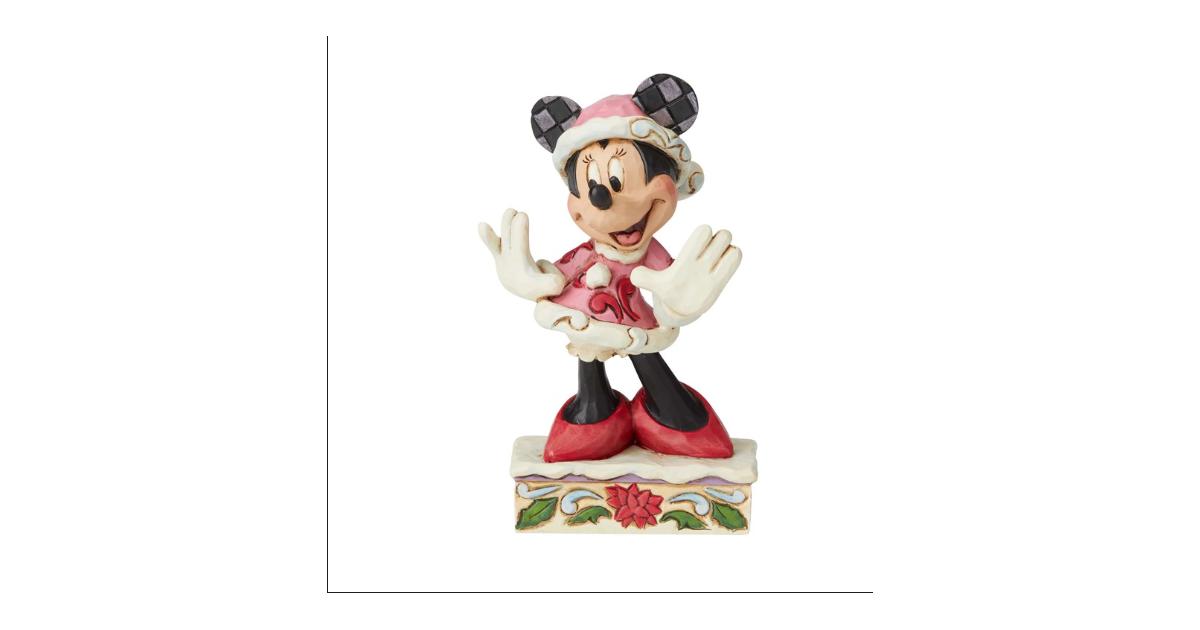 Minnie Christmas Figurine