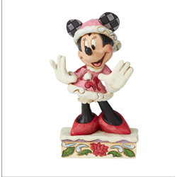 Minnie Christmas Figurine