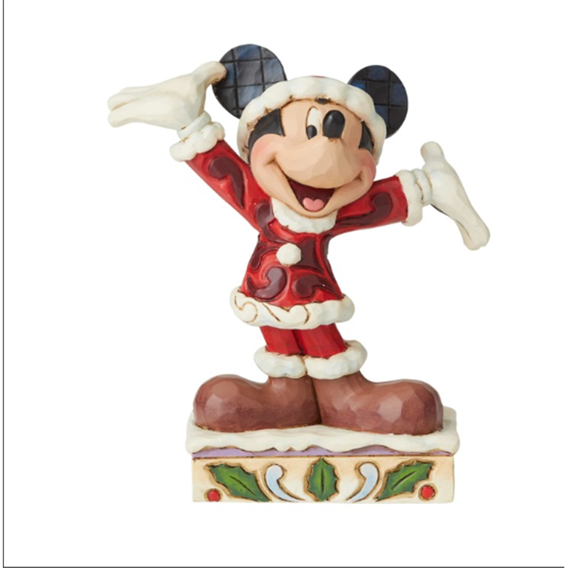 Mickey Christmas Figurine
