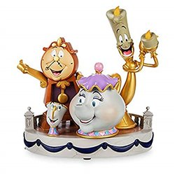 Mid Fig Magic Pals- Cogsworth, Lumiere, Mrs Potts & Chip