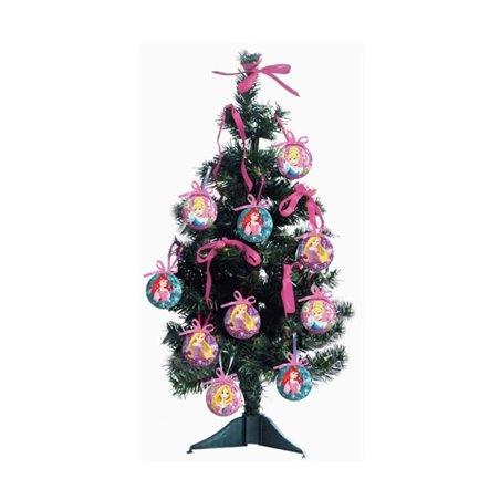18 dlg Kerstboom met onbreekbare ornamenten 60cm - Princess II