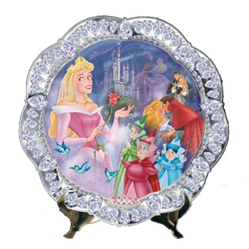 Jewels of Disney Luxe Bord - Sleeping Beauty